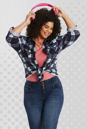 Plus size clothing online at Burkes Outlet