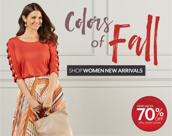 Colors of Fall - Fall Fashion for Women at Burkes Outlet