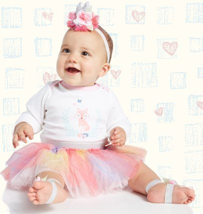 Shop Baby Girls at Burkes Outlet