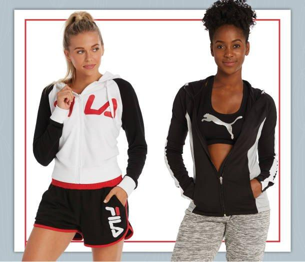 Shop Womens and Junior Activewear at Burkes Outlet.