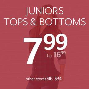 Shop Juniors