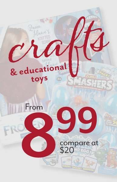 Crafts, Learning & Educational Toys