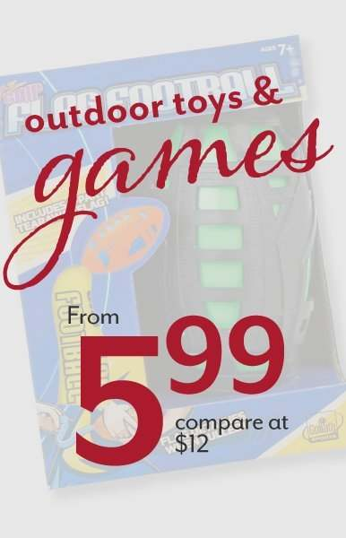 Outdoor Toys & Games