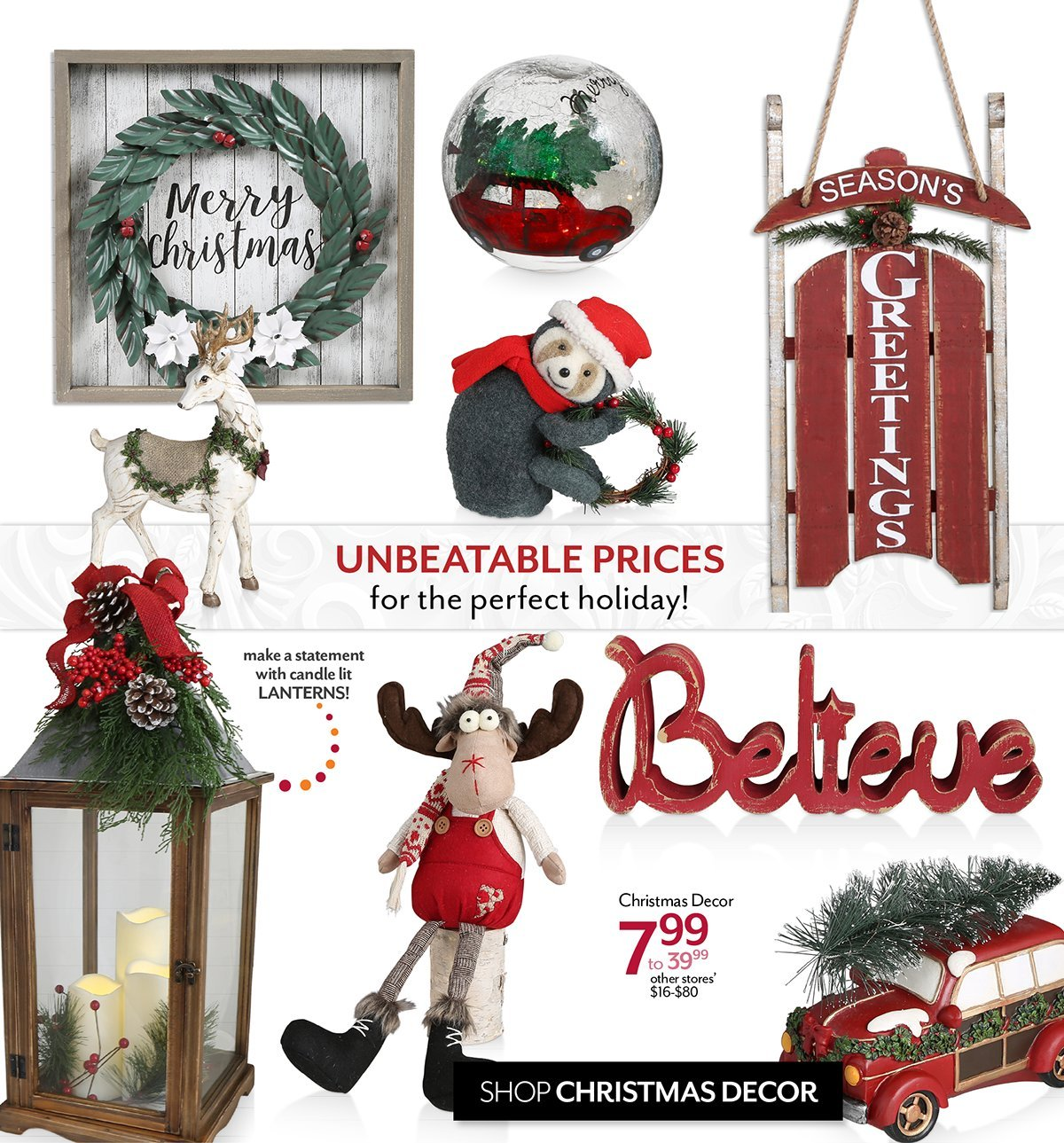 Shop Christmas Decor