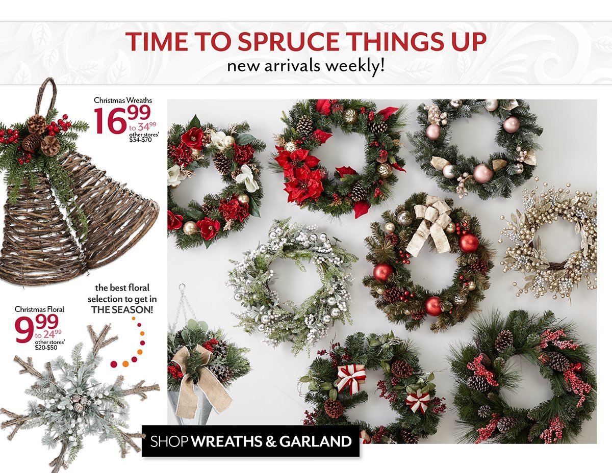 Shop Wreaths and Garland
