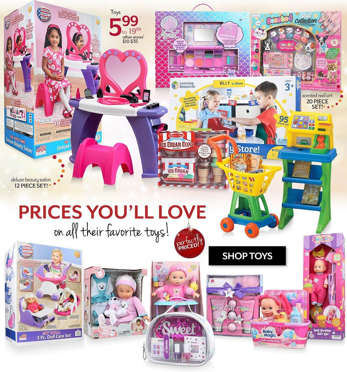 Shop Gifts and Toys for Girls