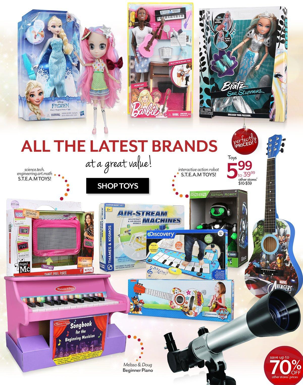 Shop Gifts and Toys for Girls and Boys