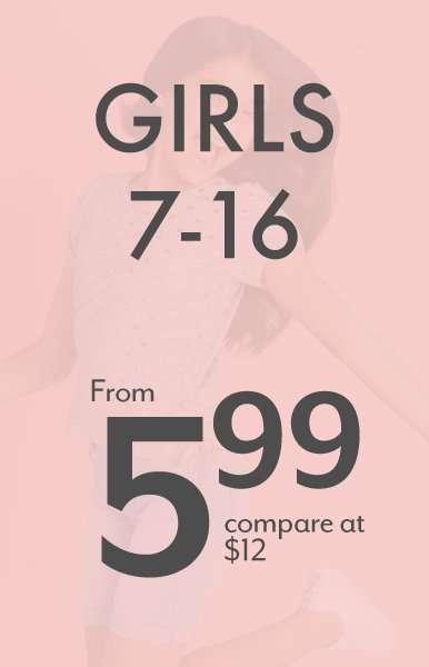 Girls 7-16