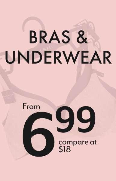 Bras & Underwear