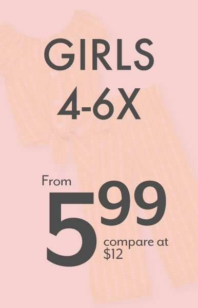Girls 4-6X