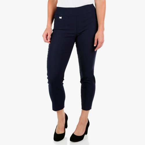 61554a41 Women's Tummy Control Pull-On Pants - Navy