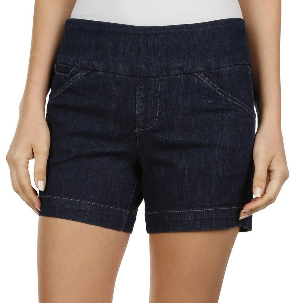 e314d0fcb0af Women's Ainsley Pull-On Jean Shorts - Dark Rinse | Burkes Outlet