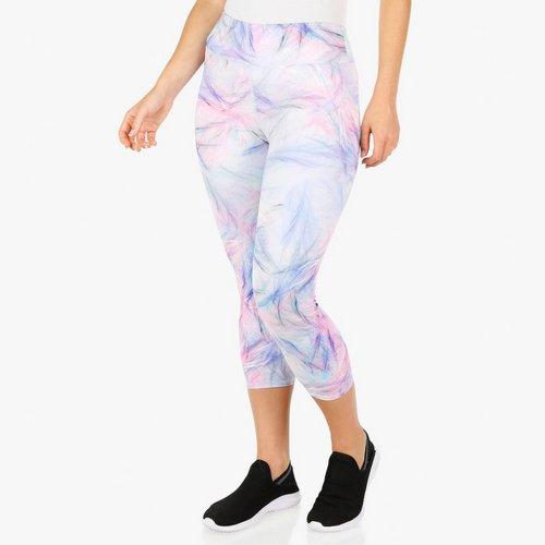 711604fa937a4 Women's Active Watercolor Capri Leggings - Multi