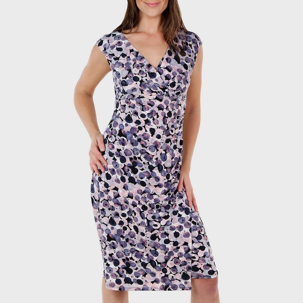 716ec193 Women's Bubble Dot Wrap Dress - Multi | Burkes Outlet
