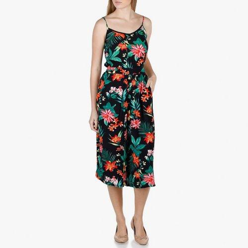 6787d0de3e1a Junior Tropical Print Jumpsuit - Multi. S  M  L. More Sizes