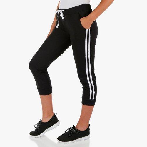 afe0bcd5e0 Junior Side Stripe Jogger - Black