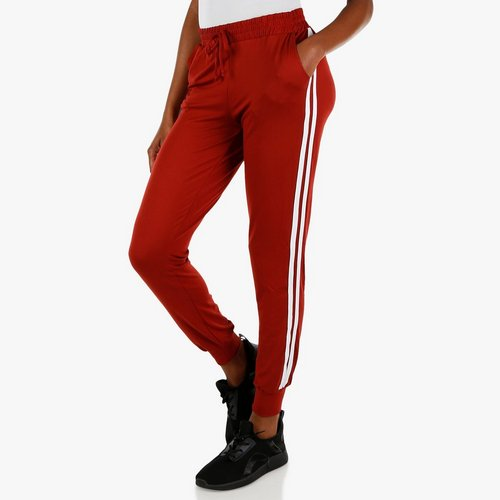 5319488fb4e Junior Varsity Stripe Joggers - Rust