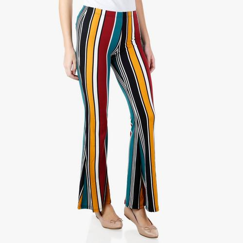 vast selection timeless design durable in use Junior Retro Striped Flare Pants - Multi