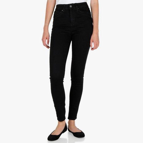 80d199fa Junior High-Rise Skinny Leg Pants - Black