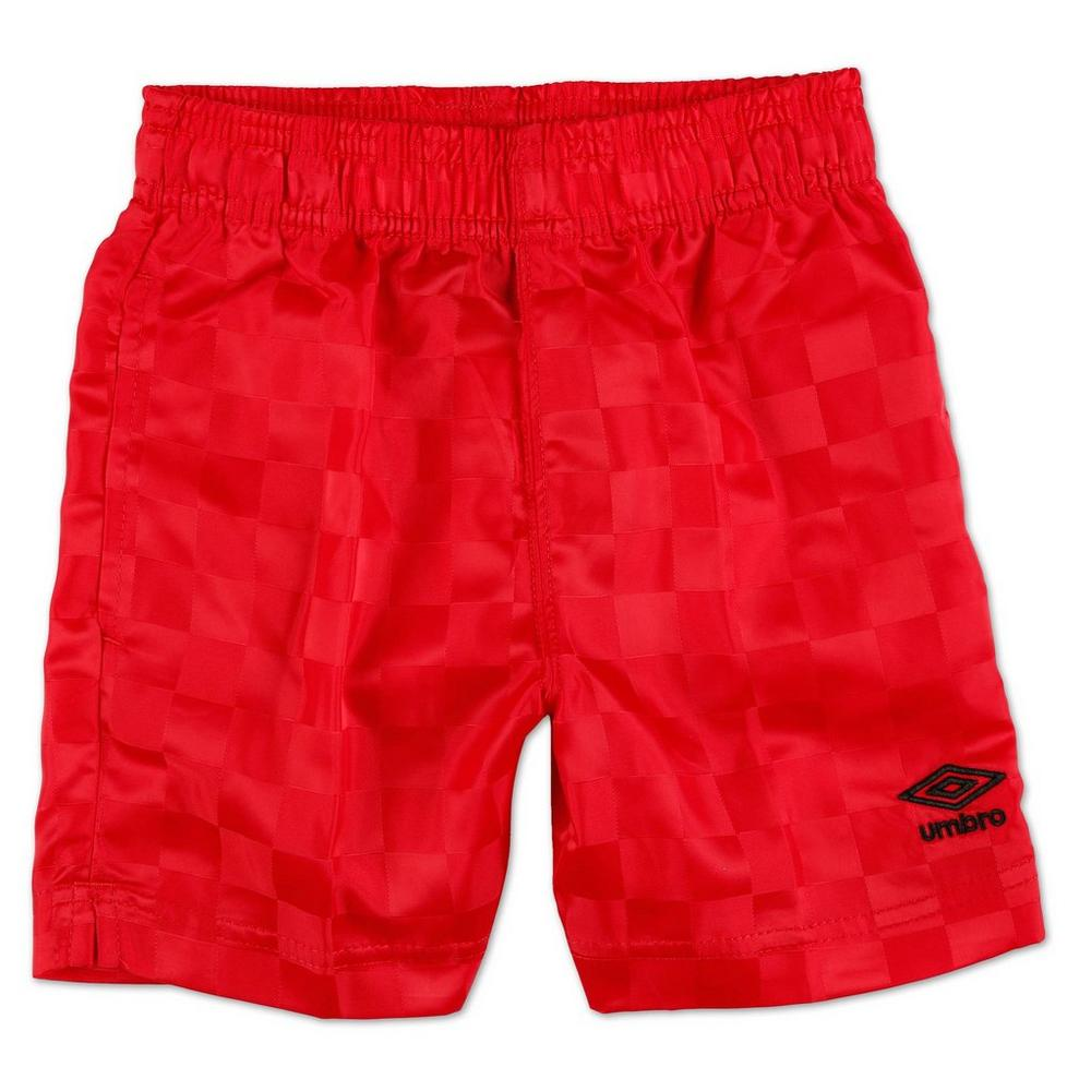 53b883a1f2 Boys Active Checkerboard Shorts - Red (4-7) | Burkes Outlet