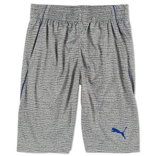 ea71c0351ff Boys Active Spacedye Performance Shorts - Grey (8-20)