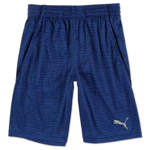 fbe6c80d3 Boys Active Spacedye Performance Shorts - Blue (8-20)