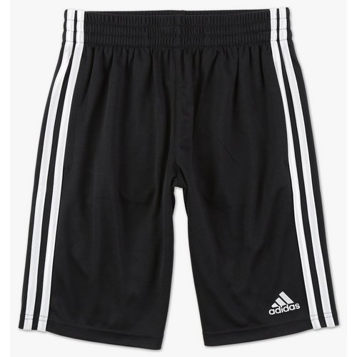 ef80c50b0f85 Boys Active 3-Stripe Training Shorts - Black White (8-20)