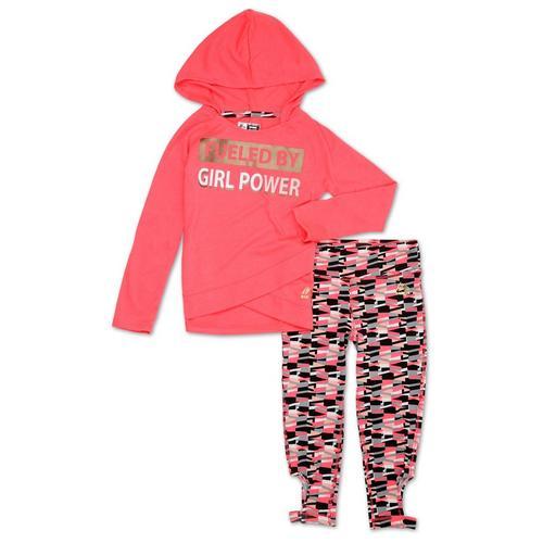 Reebok Girls Girl Power Print Set