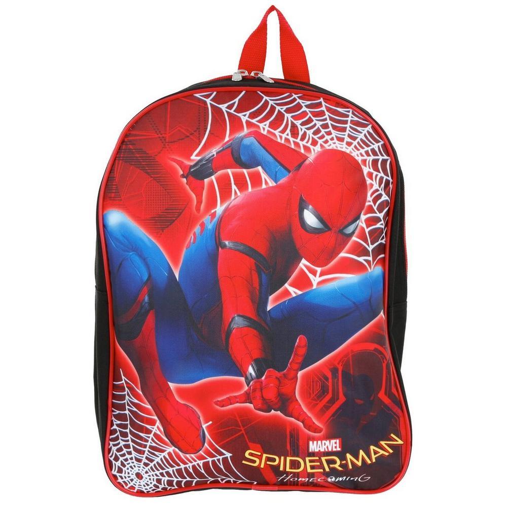 92ef393b00ee Spiderman Homecoming Backpack - Red