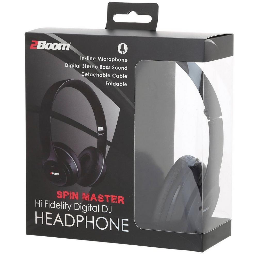 Spin Master Digital DJ Headphones - Black