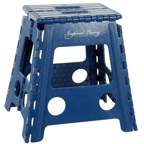 Awesome 16 Foldable Step Stool Blue Machost Co Dining Chair Design Ideas Machostcouk