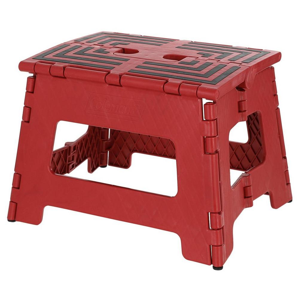 Super Folding 9 Step Stool Red Ocoug Best Dining Table And Chair Ideas Images Ocougorg