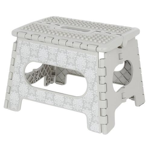 Awesome Floral 9 Step Stool Grey Ocoug Best Dining Table And Chair Ideas Images Ocougorg