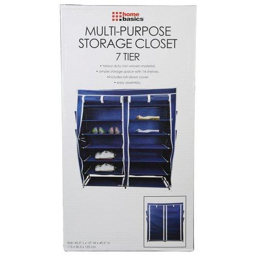 Multi Purpose Storage Closet   Blue