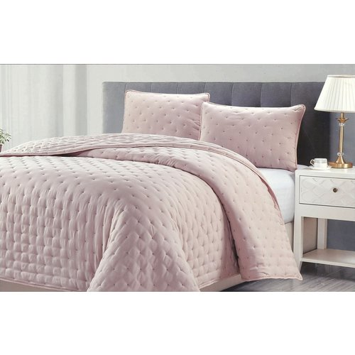 ae8acd536 Add to bag. King Prospect Park 3 Pc Quilt Set - Rose