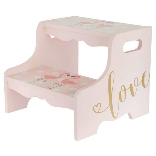 Strange Flamingo 2 Step Stool Pink Creativecarmelina Interior Chair Design Creativecarmelinacom