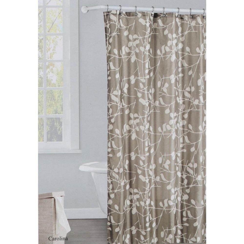 Printed Shower Curtain Set
