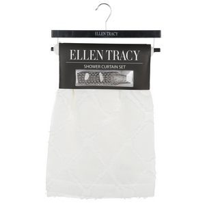 Ellen Tracy Aurora Shower Curtain with Hooks Have More In Stock