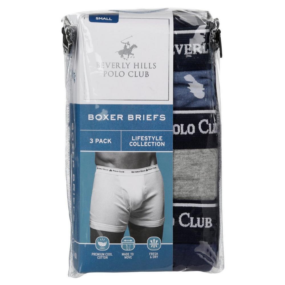 2a9c6da2dbdd Men's 3 Pk Premium Boxer Briefs - Multi | Burkes Outlet