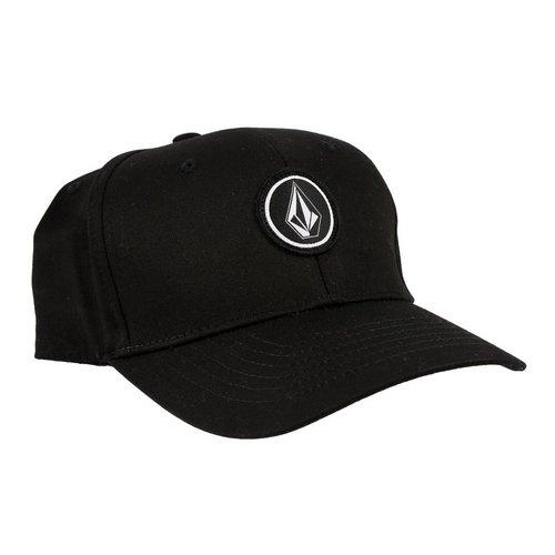 be3d91c13d61c Quarter Stretch Fit Cap - Black (S M)