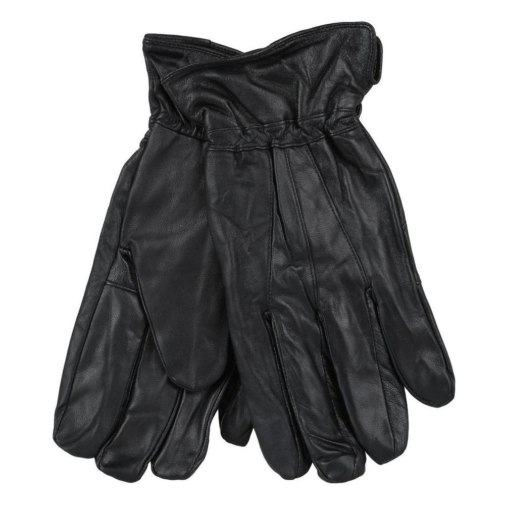 4834c622cfe1f Men's Genuine Leather Gloves - Black | Burkes Outlet