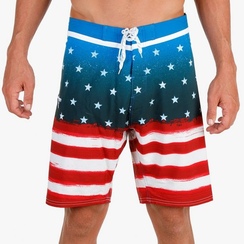 782fcbe5b4 Men's Stars & Stripes Board Shorts - Multi