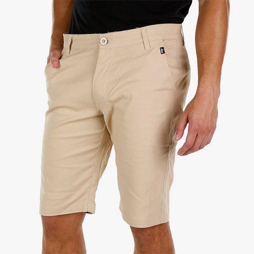 2e152d8573 Men's Twill Flat Front Shorts - Khaki