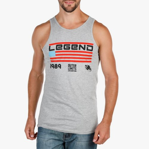 aee94a3b64102 Men s Legend Graphic Tank-Top - Grey