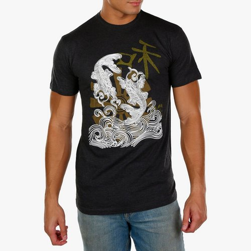 14f27b363 Men's Coy Fish Graphic Tee - Charcoal