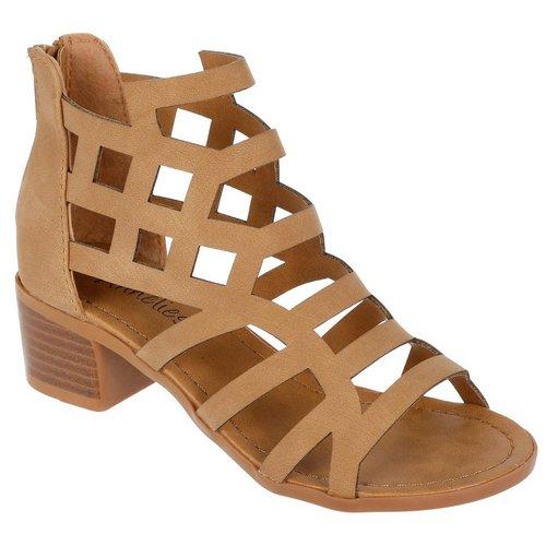 e8f15f62e84d11 Mason Sandal Heels - Tan