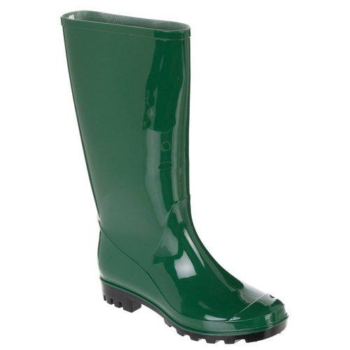 b5d92285aa7 Rubber Rain Boots- Hunter Green