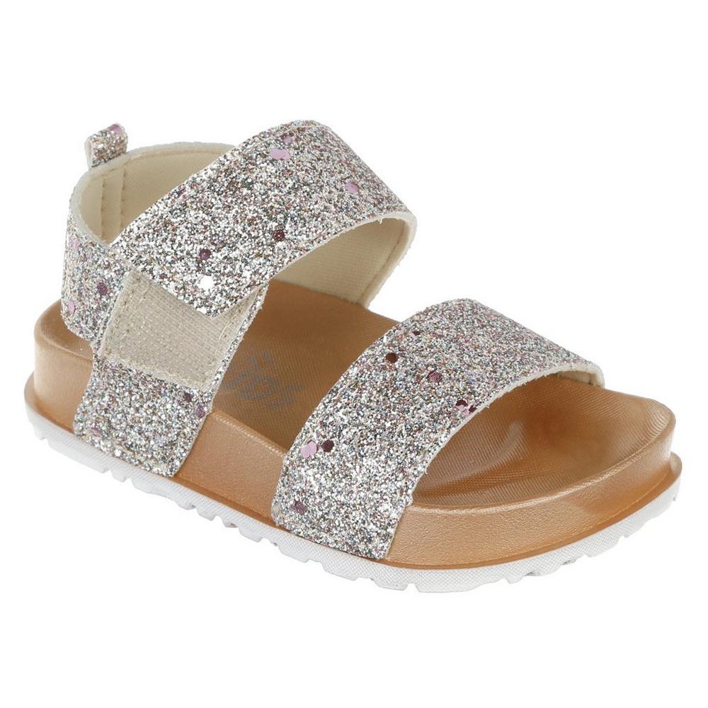 ea9f63e61f60 Girls Linky Glitter Sandals - Pink