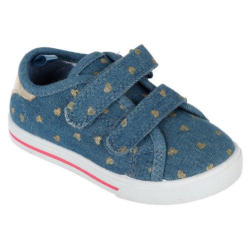 3befa88c6a3 Girls Nikki Denim Sneakers - Blue