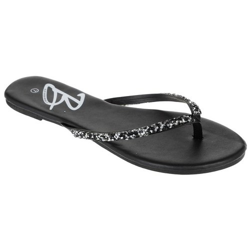 cc7a67ef8 Pop Rock Thong Flip-Flops - Black